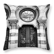 Entry Bw Charleston Sc Throw Pillow