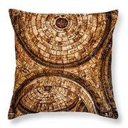 Entry To Sacre Coeur Basilica - Paris Throw Pillow