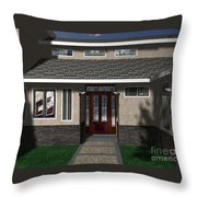 Entry Way Throw Pillow