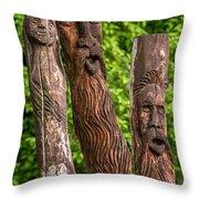 Ents  Throw Pillow by Steve Harrington