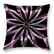 Entwine Violot Throw Pillow
