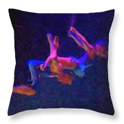 Entwines Throw Pillow