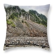 Eons Of Change Throw Pillow