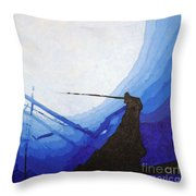 Epave Throw Pillow