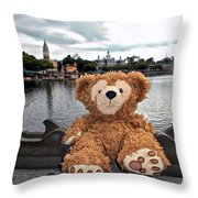 Epcot Bear Throw Pillow