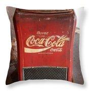 Epcot Old Coke Throw Pillow