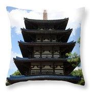 Epcot Pagoda Throw Pillow