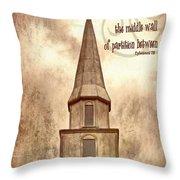 Ephesians 2 14 Throw Pillow