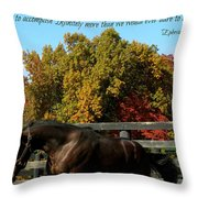 Ephesians Throw Pillow