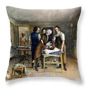 Ephraim Mcdowell, 1809 Throw Pillow