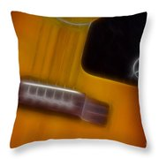 Epiphone Acoustic-9428-fractal Throw Pillow