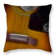 Epiphone Acoustic-9429-fractal Throw Pillow