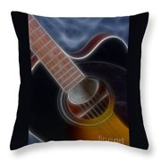 Epiphone Acoustic-9481-fractal Throw Pillow