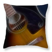 Epiphone Acoustic-9484-fractal Throw Pillow