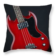 Epiphone Sg Bass-9189 Throw Pillow