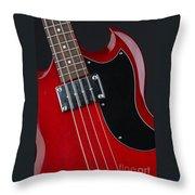 Epiphone Sg Bass-9193 Throw Pillow
