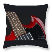 Epiphone Sg Bass-9205 Throw Pillow