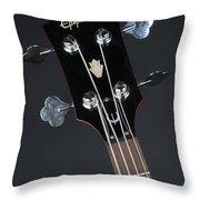 Epiphone Sg Bass-9225 Throw Pillow