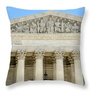 Equal Justice Under Law II Throw Pillow