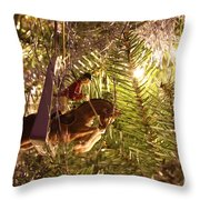 Equestrian Ornament Throw Pillow