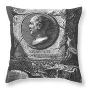 Eqves Io. Bapt. Piranesivs Venetvs Architectvs Throw Pillow