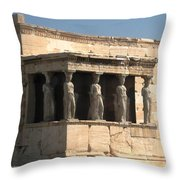 Erchtheion 5 Throw Pillow