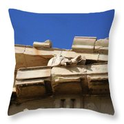 Erechtheion 10 Throw Pillow