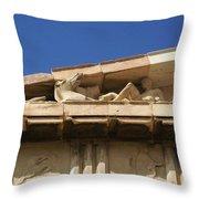 Erechtheion 11 Throw Pillow