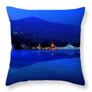 Eretria By Sea Throw Pillow