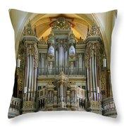 Erfurt Pipe Organ Throw Pillow