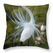 Ergret No.6 Throw Pillow