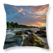 Eriador Throw Pillow by Davorin Mance