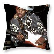 Eric Gales Throw Pillow