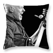 Eric On Black Throw Pillow