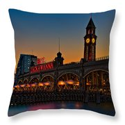 Erie Lackawanna Throw Pillow