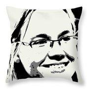 Erika Lynn Throw Pillow
