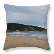 Erikousa Beach 2 Throw Pillow