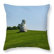 Eroi Di Luce. Ca Del Bosco Winery. Franciacorta Docg Throw Pillow