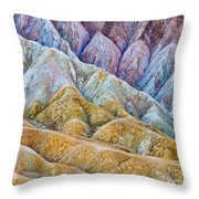 Erosion Throw Pillow