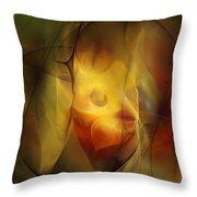 Erotic Light Throw Pillow