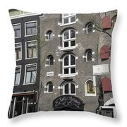 Erotic Museum Amsterdam Throw Pillow