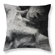 Erotic Sketchbook Page 1 Throw Pillow