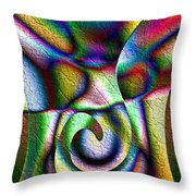 Erupt Throw Pillow