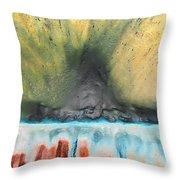 Eruption 1 Throw Pillow