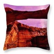 Escalante Natural Bridge Throw Pillow