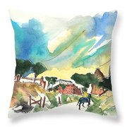 Escalona 01 Throw Pillow