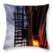 Escape In Boston Throw Pillow
