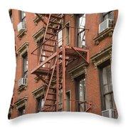 Escape Route Throw Pillow