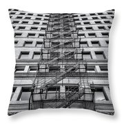 Escape Throw Pillow by Scott Norris