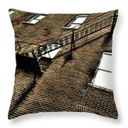 Escape To Nothing Throw Pillow